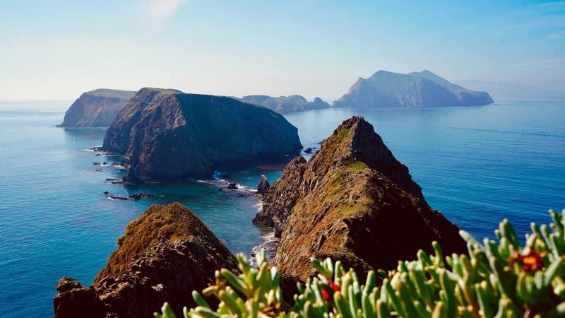 Inspiration point at Anacapa Island!