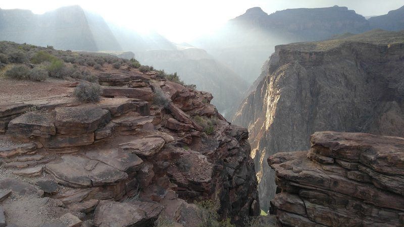 Sunset at Plateau Point