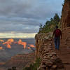 Grand Canyon National Park: Bright Angel Trail - Sunset