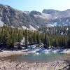 Teresa lake and Wheeler Peak