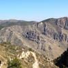 View of Hunter Peak mountain