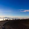 Watching the sunset Mount Haleakala Maui Hawaii