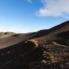 Path Mount Haleakala Maui Hawaii Pano