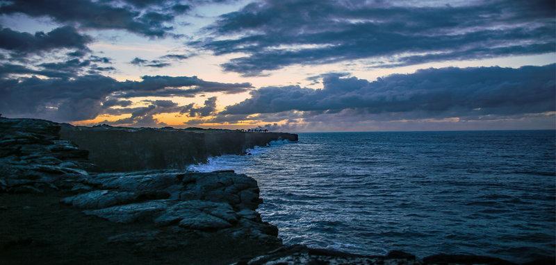 Dark Morning Hawai'i Volcanoes National Park