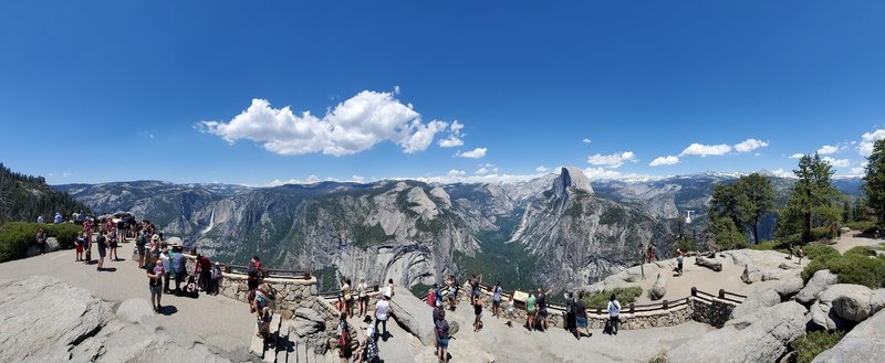 Panorama from Glacier Point