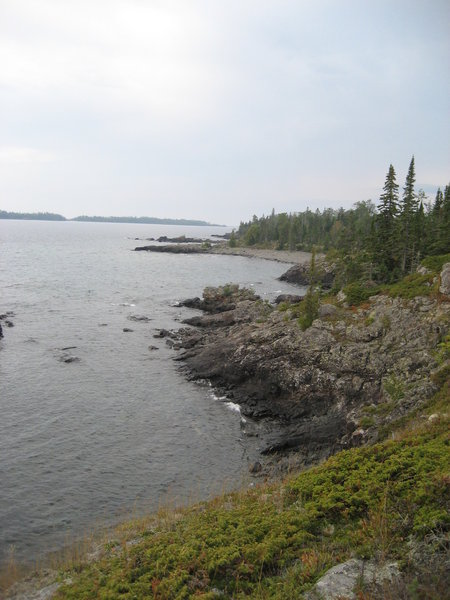 Trail to Scoville Point, Rock Harbor, Isle Royale National Park, Michigan