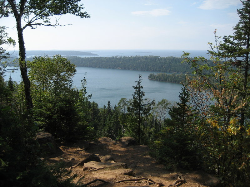 View from Lookout Louise, Isle Royale National Park, Rock Harbor, Michigan