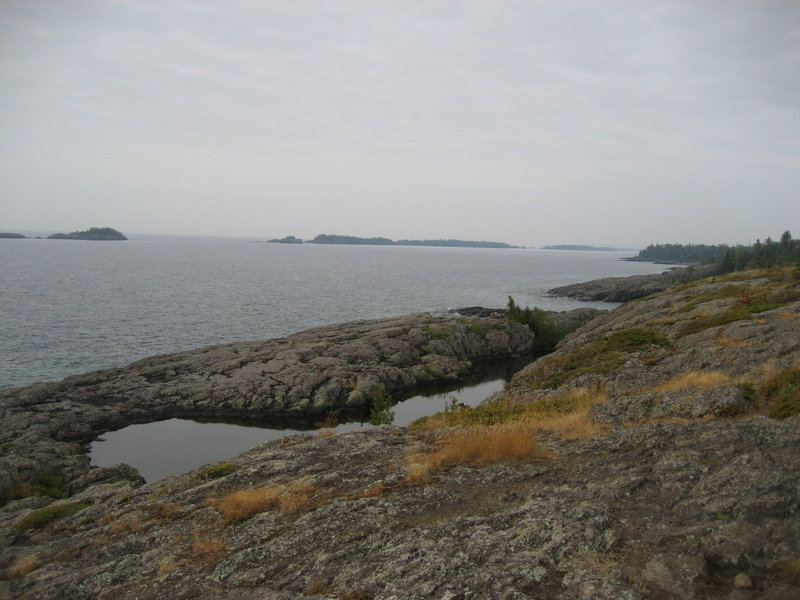 Scoville Point, Rock Harbor, Isle Royale National Park, Michigan