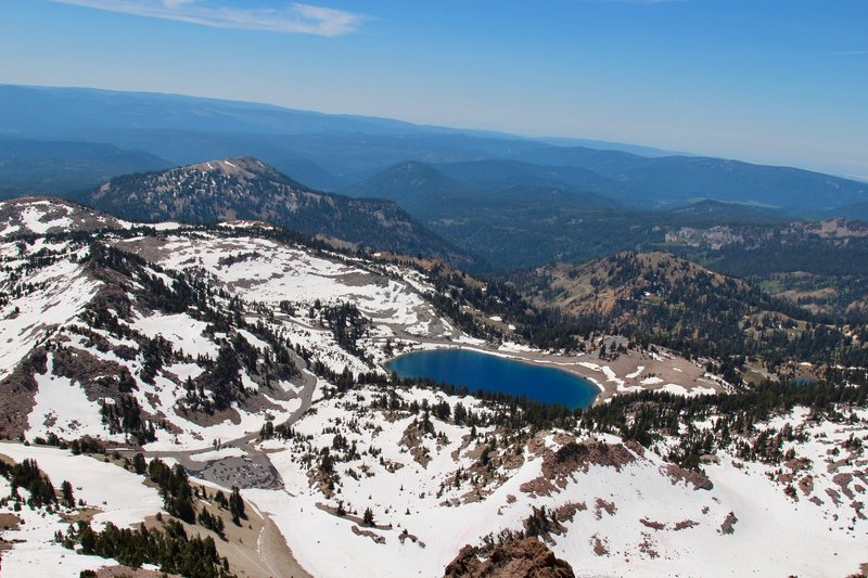 Overview of Helen Lake