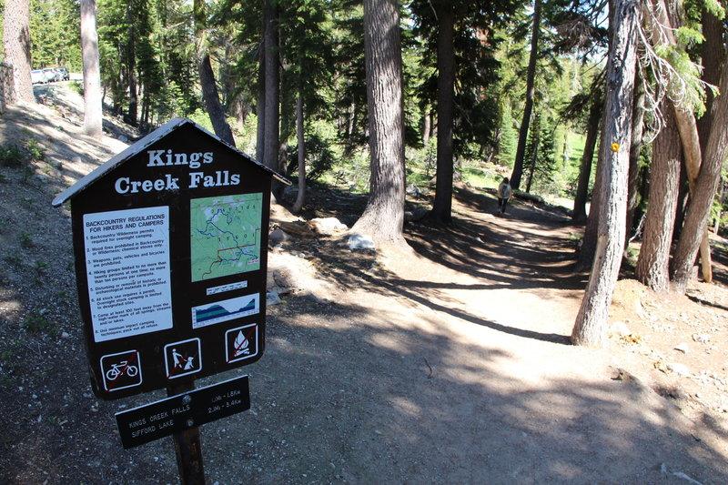 Kings Creek Trailhead