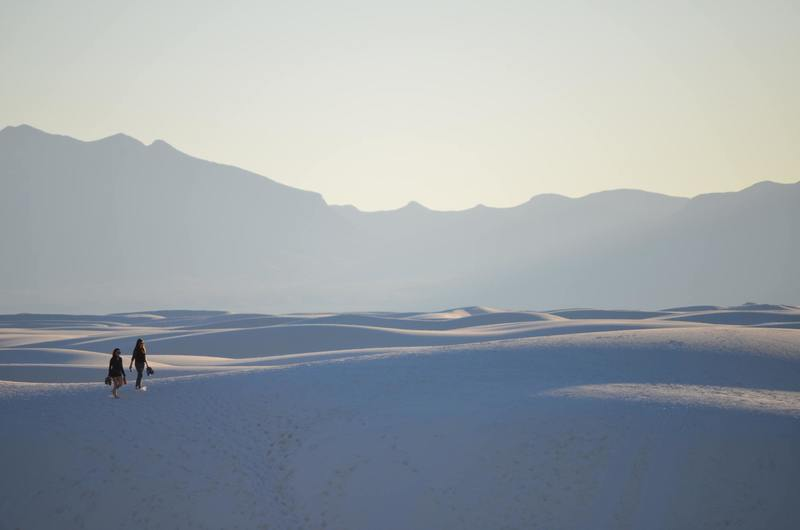 White Sands National Monument, United States - Hike To The Horizon