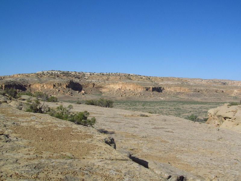 Views toward the South Mesa