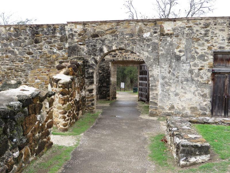 Mission San Juan Capistrano, San Antonio Missions National Historical Park, San Antonio, Texas