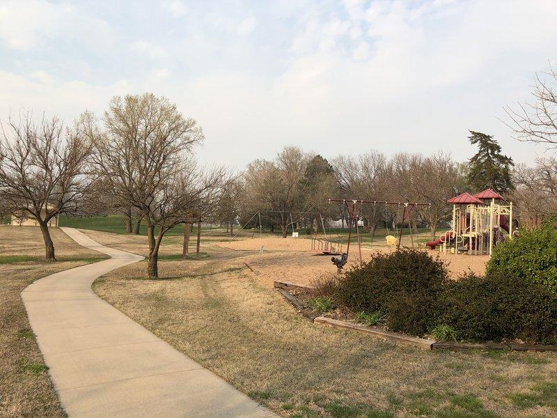 Playground in Emma Creek Park