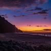 Kalalau Beach - last sunset