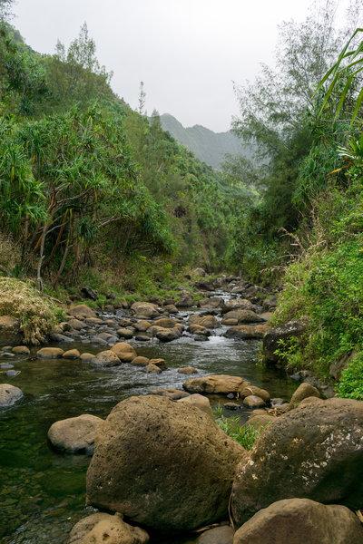 Hanakapiai Stream