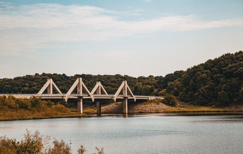 Mehaffey Bridge - Coralville Lake/Reservoir, Iowa River