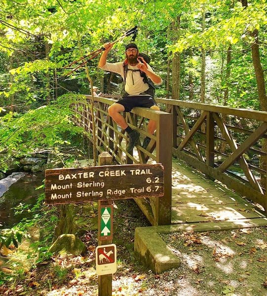Baxter Creek Bridge - northern terminus BMT