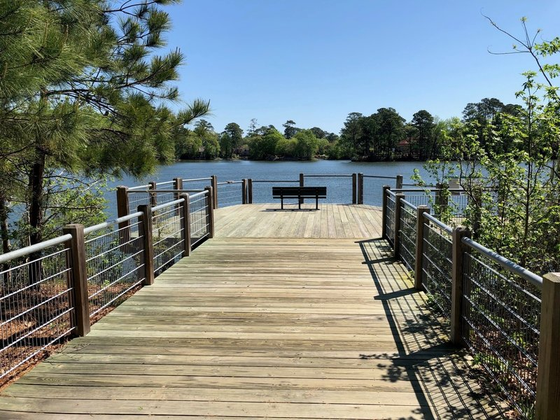 Overlook at Lake Smith/Lake Lawson Natural Area.