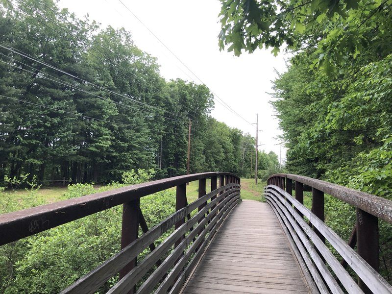 You'll find several bridges along the Bedford Heritage Trail.