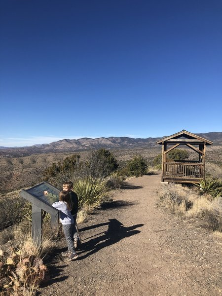 Lookout structure on Grandview Trail (T130)