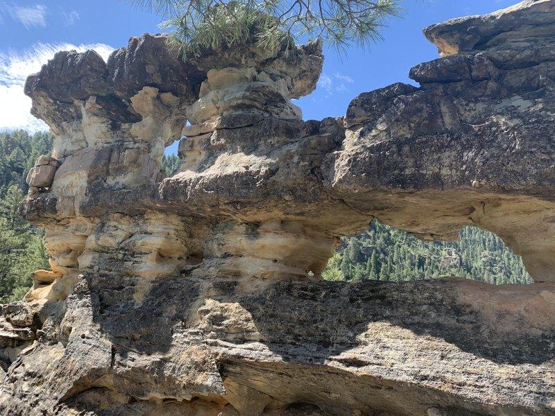 Rock windows