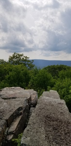 View from Kelly's Knob