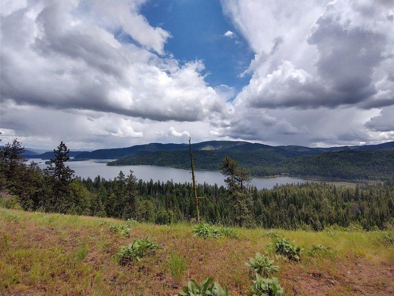 Chatcolet Lake, Looking East to Saint Joe River