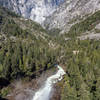 Merced River from the top of Nevada Falls