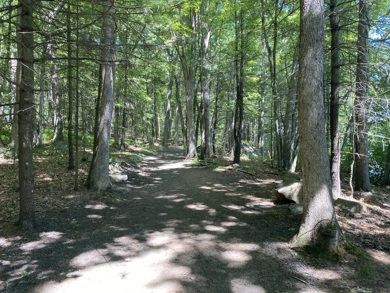 Scoville Reservoir Path