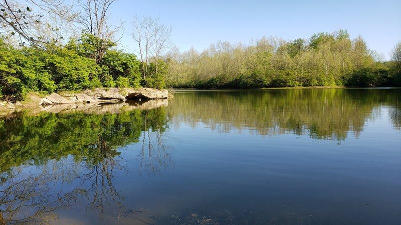 Mounts Park small lake