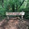 Signage at trailhead of Madison Ridge Trail.