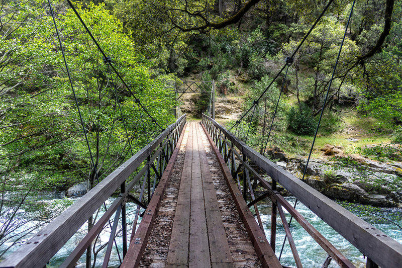 Bridge across the North Fork of Middle Fork American River.
