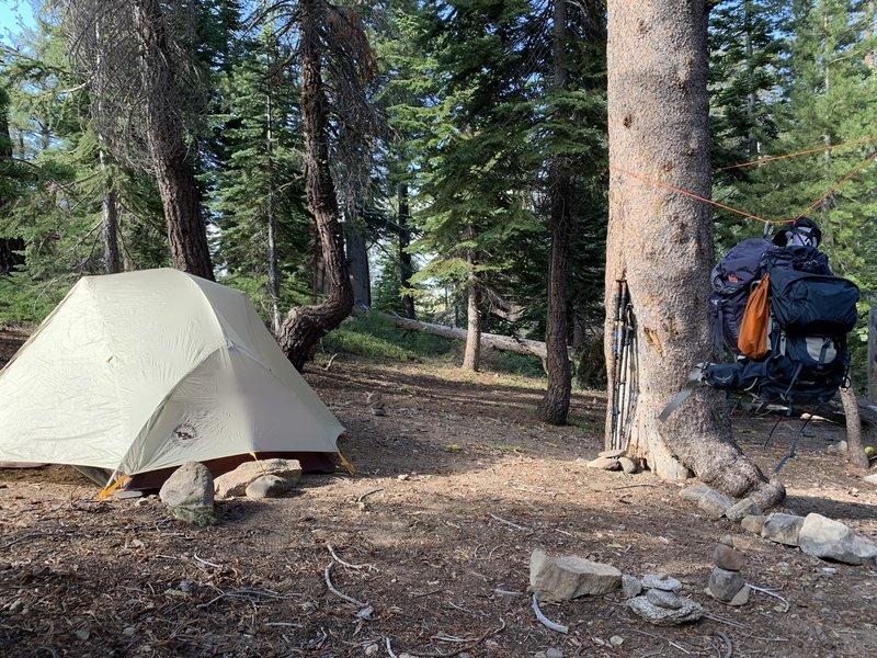 Great camping spot near Round Lake.