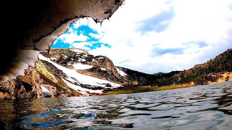 Under St. Mary's Glacier
