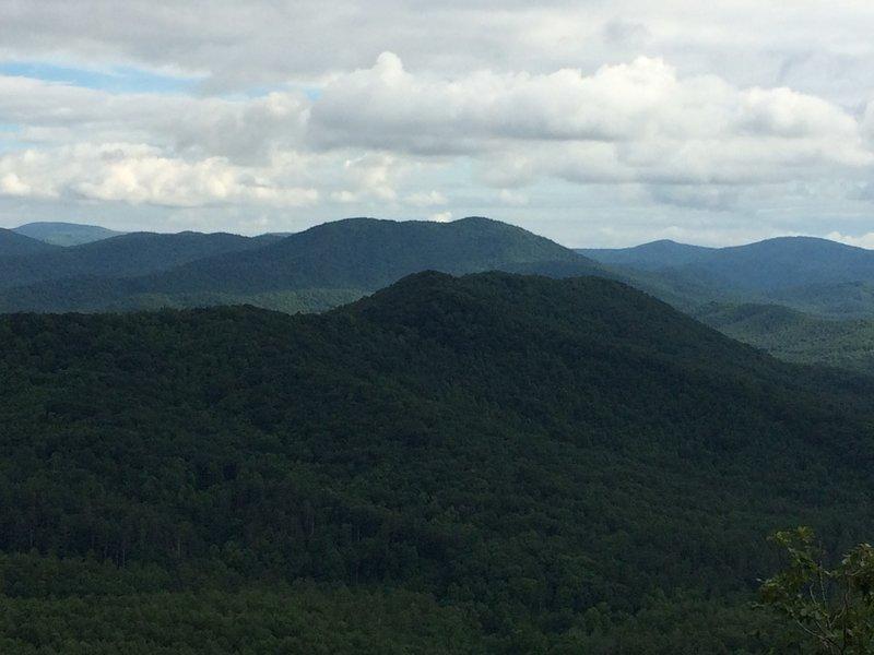 Wallalah Mountain Overlook is well worth the climb!