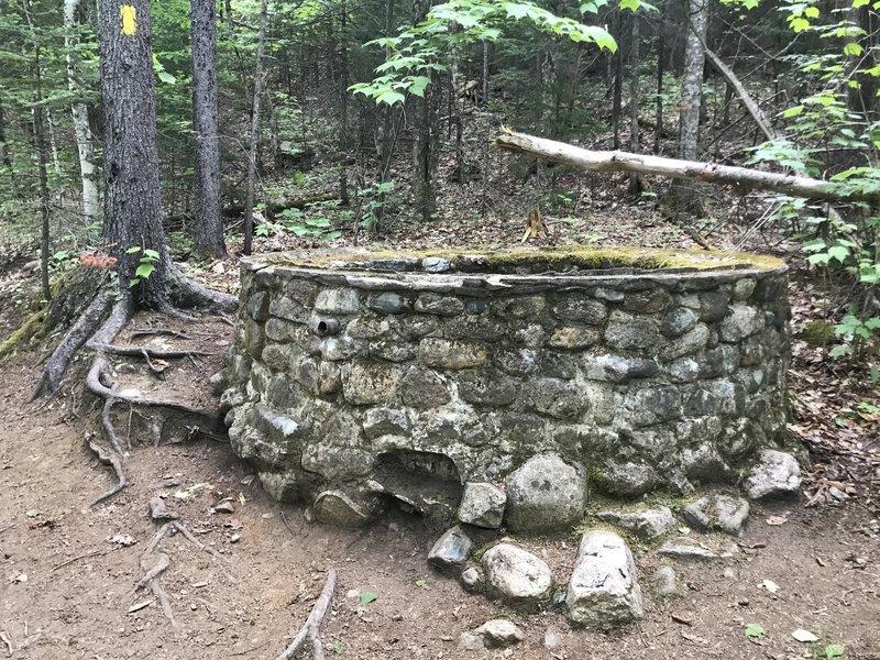 Stone structure.
