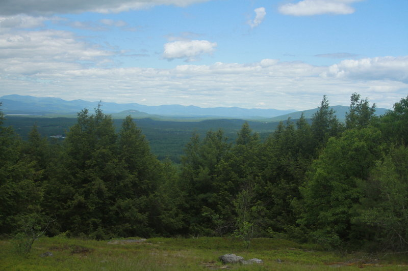 Views of mountains near New Hampshire from Cutler Mountain