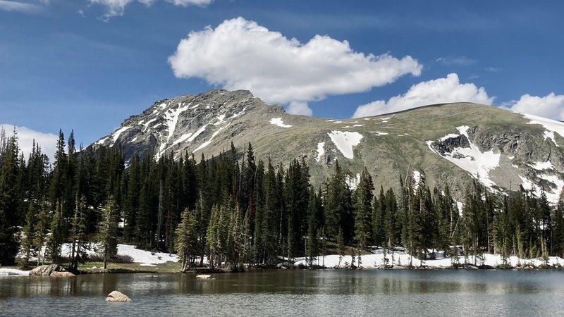 South Arapaho Peak from Diamond Lake