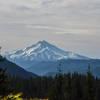 Nice views to Mount Jefferson on the way up to Beachie Saddle