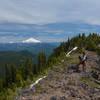 Plenty of room on top of Battle Ax Mountain