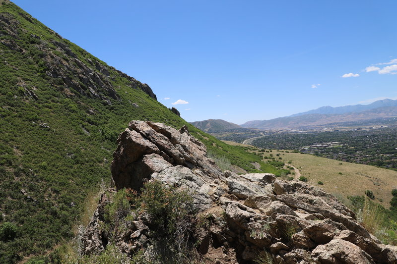 This is a lookout where the trail starts