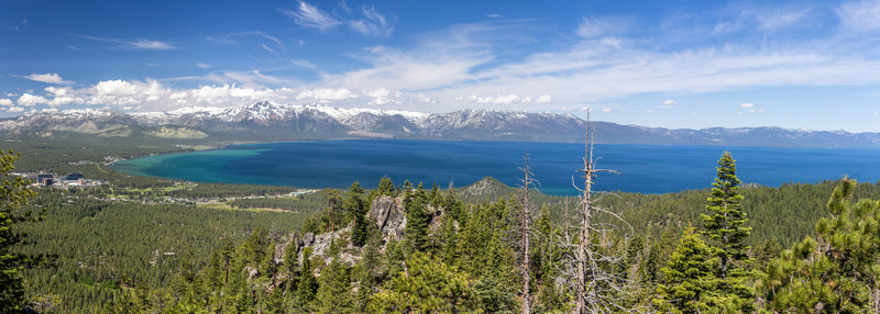 Lake Tahoe from Castle Rock.