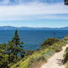 Lake Tahoe from Cave Rock Trail.