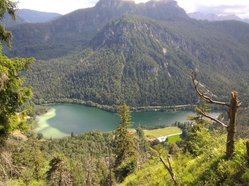 View of Lake Thum.