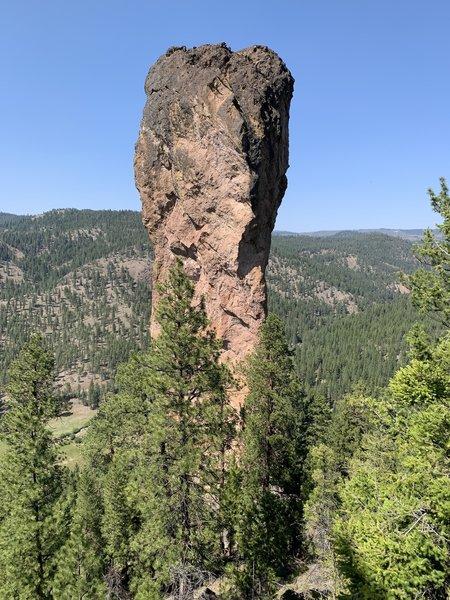 The final view of Stein's Pillar!
