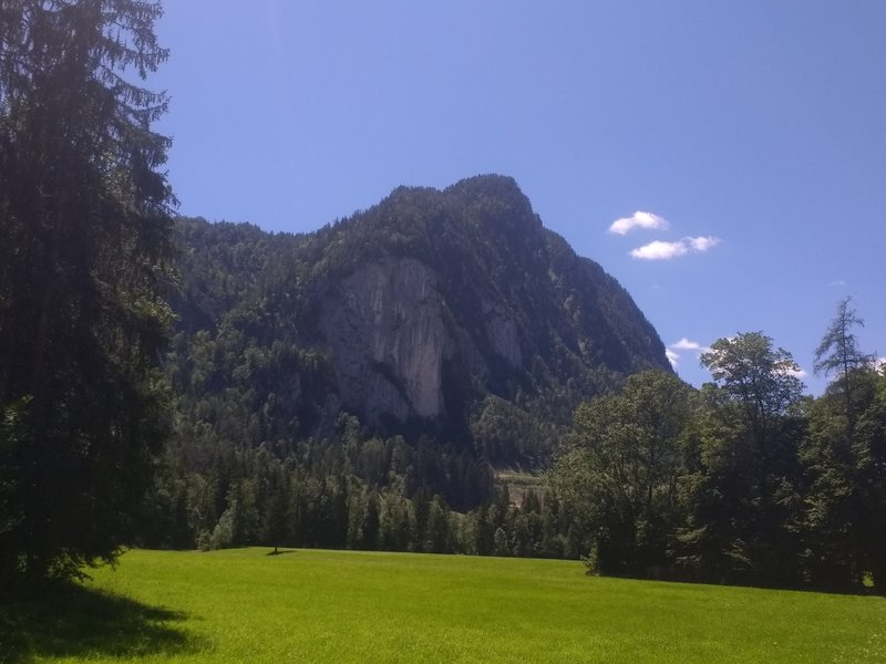 View of Achhorn mountain
