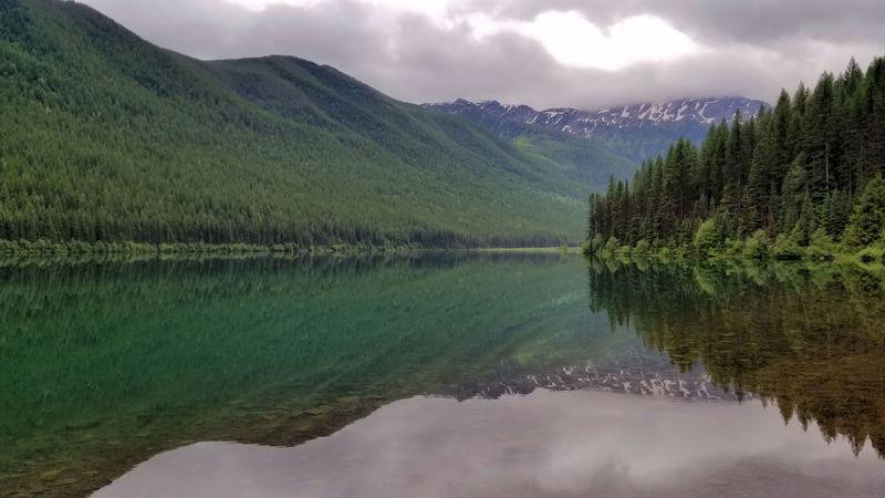 Stanton Lake and Grant Ridge.