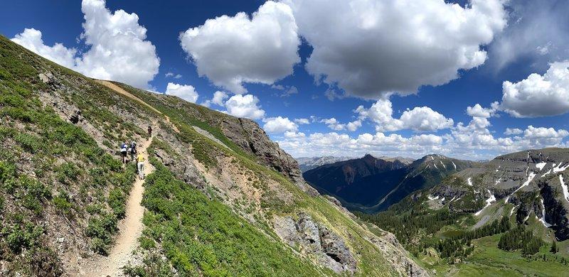 The Trail Between Ice Lake and Island Lake