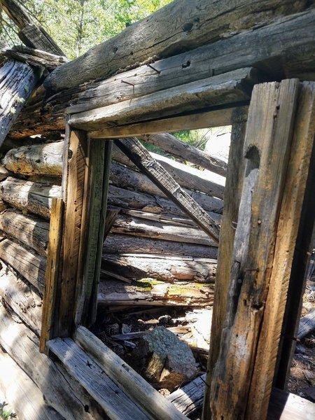 Cabin remains